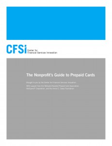 CFSI Nonprofit Guide to Prepaid