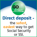 Direct Depositing Social Security Payments on Go Direct Prepaid Cards