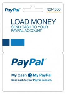 Convert Cash to PayPal Funds with PayPal Prepaid Debit Card