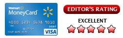 Walmart Prepaid-Kreditkarte Bewertung