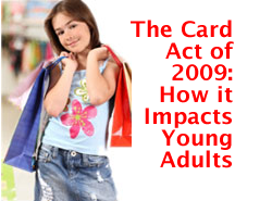Card Act of 2009 and Young Adults