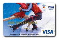 Visa Olympic Figure Skating Gift Card