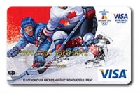 Visa Gift Card Olympic Hockey