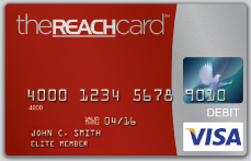 The REACH Prepaid Visa Card