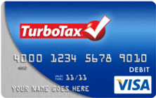 TurboTax Tax Refund Visa Card