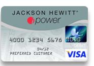 jackson Hewitt prepaid debit ipower card