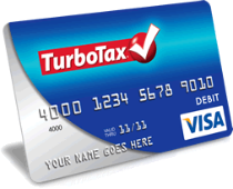 TurboTax Tax Refund Prepaid Debit Card