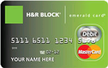 H&R Block Emerald MasterCard Tax Refund Card