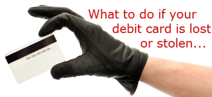 Lost Visa Debit Card? Stolen Visa Debit Card? Here's What ...